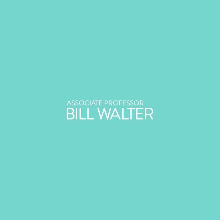 Associate Professor Bill Walter