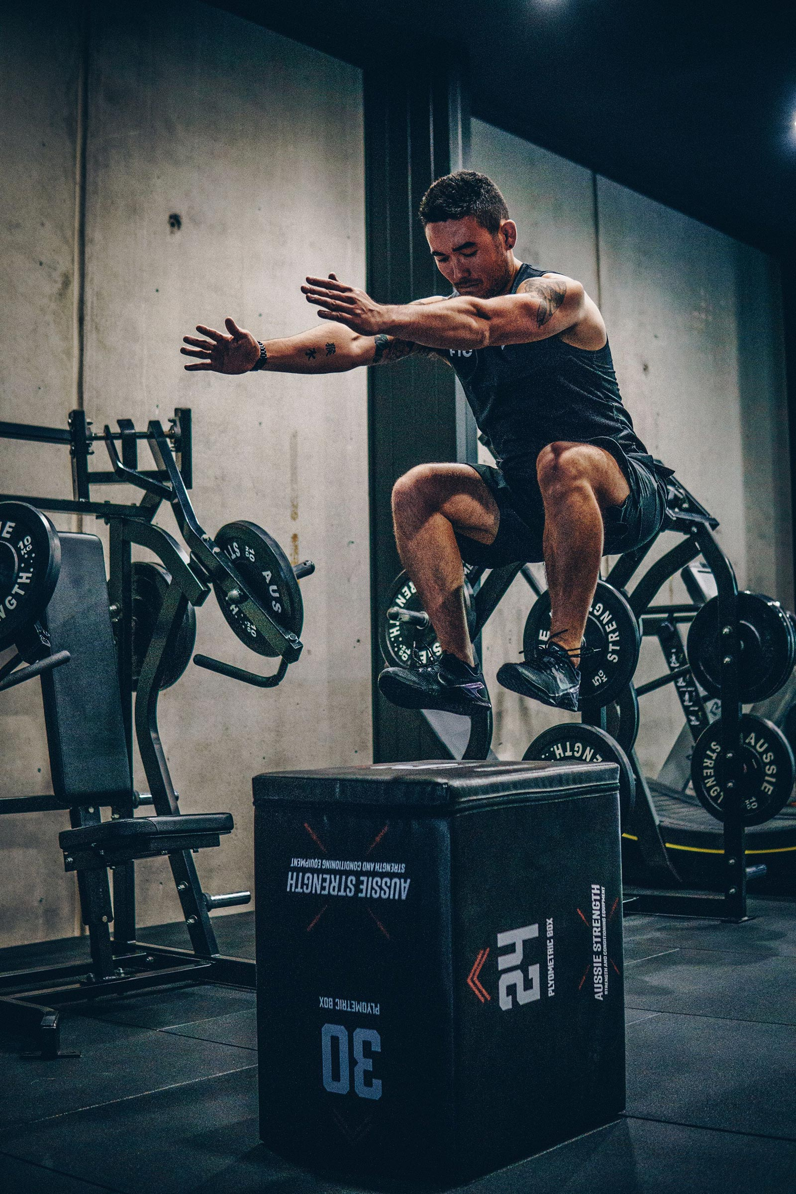 FTC gym photography by Squeeze Creative, Sydney, Surry Hills